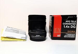 Sigma AF Teleconverter 1.4X APO EX DG for Canon EOS EF: EXCELLENT++