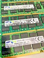 128GB 8 x 16Gb 2Rx4 PC3L-12800R DDR3 1600 RAM Memory for DELL POWEREDGE