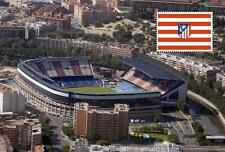 Stadium Vicente Calderon - At.Madrid (Spain) postcard - Size 15x10 cm. aprox.
