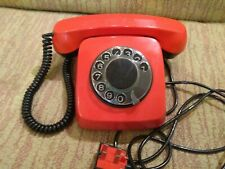 Authentic vintage rotary telephone.  USSR 2