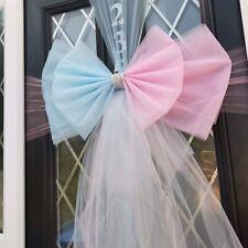 Deluxe Door bow  * Wedding * Baby Reveal * Shower * Pink &  Blue