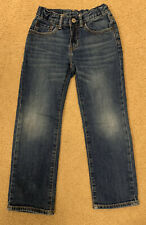 Boys Gap Straight Jeans With Adjustable Waist Size: 6