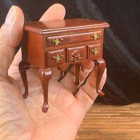 Vintage Chippendale Lowboy DollHouse Miniature 1/12 Scale