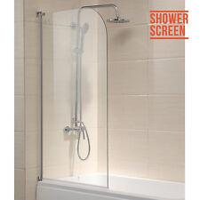 180° Pivot Panel Shower Screen 6mm Tempered Glass Chrome Frame Bath Door