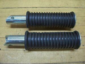 Vintage NOS OEM Bridgestone Motorcycle 175 HS 200 SS Rear Footpegs Pegs