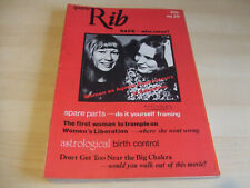 Spare Rib Women's Liberation Feminist Magazine Number 20 February 1974