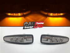Smoked Lens Amber Led Side markers Turn Signal Light For 08' Mitsubishi Lancer X