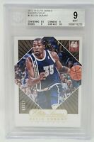 2012 Elite Series Gold Inserts 04/24 KEVIN DURRANT Basketball Card Grade MINT 9