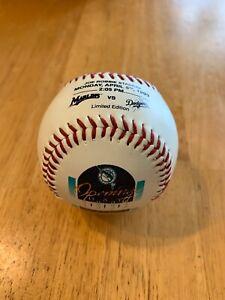 Florida Marlins Opening Day Inaugural Game Ball Baseball April 5th 1993