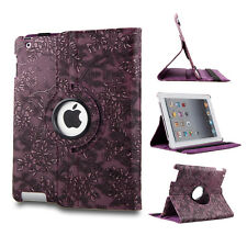 New 360 Rotating PU Leather Case Smart Cover Stand for Apple iPad Mini 1 2 3 US