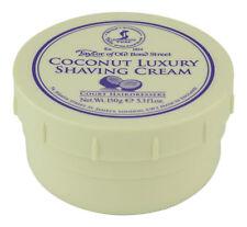 Taylor of Old Bond Street Coconut Shaving Cream Bowl 150 g. Sealed Fresh