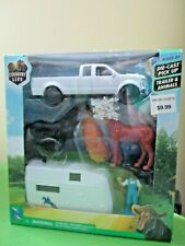 1/43 Scale Diecast Truck, Horse Trailer New Ray Country Life