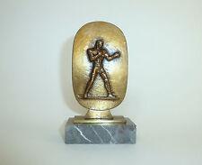 Bronze Boxer Box Hofbildgiesserei Martin & Piltzing Berlin 1952  B-036