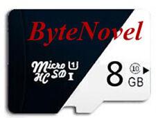 ByteNovel 8GB Micro SD Card C10 Camera, Cellphone, Drone, Dashcam, Security