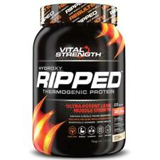 VitalStrength Hydroxy Ripped Workout Protein Powder 1Kg Vanilla