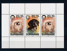 [SU044] Suriname Surinam 1976 Dogs Souvenir Sheet MNH