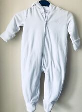 2133913e1f9b BNWT BABY BOYS THE LITTLE WHITE COMPANY VELOUR ROMPER BABYGROW SIZE 18-24  MONTHS