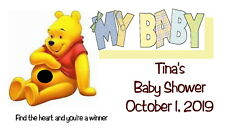 Baby Shower Scratch Off Cards Winnie the Pooh Set of 60