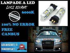 2012+ Audi A4 8K2 facelift LUCI DIURNE LED PW24W COPPIA NO ERROR EFFETTO XENON