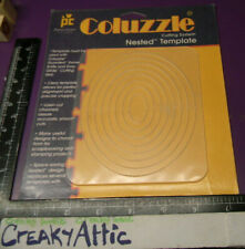 COLUZZLE OVAL 8 SIZES CUTTING NIP PATTERN PROVO CRAFT RETIRED die CREAKYATTIC
