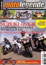 MOTO LEGENDE 213 SUZUKI GSX-R 750 1100 BMW R51/3 R67/2 ISDT Marco LUCCHINELLI