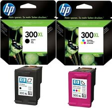 2x HP300 XL ORIGINAL DRUCKER PATRONE DESKJET D1660 D2560 D2660 D5560 F2420 F2480