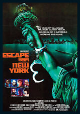 Escape From New York Repro Film POSTER Port