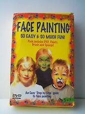 FACE PAINTING so easy & so much fun [dvd+colori]