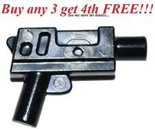 ☀️NEW LEGO Weapon Black SUBMACHINE GUN Short Machine Gun Police Gangster mini