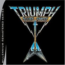 Triumph - Allied Forces [New CD] Rmst