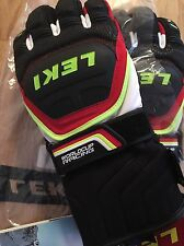 LEKI Ski gloves size 7.5-WORLD CUP Race Coach Flex S GTX Trigger S