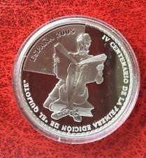 Espagne - Magnifique monnaie de 10 Euros 2005  Proof en Argent - Don Quijotte