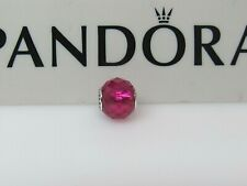 New w/BOX Pandora HAPPINESS Synthetic Ruby ESSENCE Charm 796076SRU