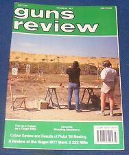 GUNS REVIEW MAGAZINE JULY 1989 - RUGER M77 MKII RIFLE