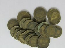Lot of 25 Old France 1922 50 Centimes Coins - Circulated