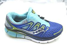 Saucony size 9M Triumph Iso 3 blue green running womens ladies sneakers shoes