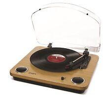 Ion Audio Max LP USB Plattenspieler Vinyl Umwandlung Software PC & Mac Turntable