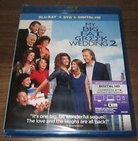My Big Fat Greek Wedding 2 (Blu-ray/DVD, 2016, 2-Disc)  .. sealed new