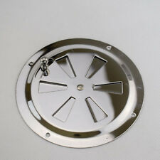 "Butterfly Vent Cover Stainless Steel 5"" Flange RV Marine Boat User-Friendly"