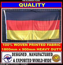 German flag Germany flag 180cm x 90cm woven & printed Quality LARGE