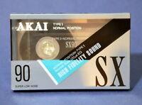1 x AKAI SX 90   CASSETTE KASSETTE IEC I  OVP