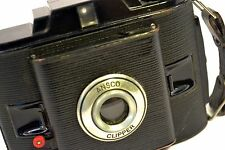 ANTIQUE VINTAGE RETRO CLASSIC CAMERA - ANSCO CLIPPER - Clear Lens & Glass