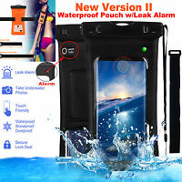 Waterproof Underwater Phone Case Dry Bag Pouch w/ Armband & Strap for Cell Phone