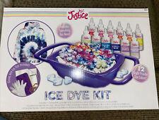 Justice DIY Tie-Dye Ice Dye Kit . Tee Shirt Tye Die kit . Tie die. BRAND NEW