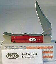 Case XX Kickstart Red Pearl Kirinite Mid Folding Hunter Knife