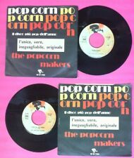 """LP 45 7"""" THE POPCORN MAKERS Pop corn Toad in the hole italy RIVIERA no cd mc*dvd"""