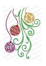 ORNAMENT FLOURISH DIE-Impression Obsession/IO Stamps (DIE353-YY)-Christmas