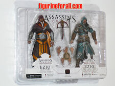 NECA Assassins Creed 2-Pack Ezio Auditore FLORENTINE SCARLET & CASPIAN TEAL