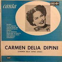 Hear Carmen Delia Dipini Sings Canta Mexican Press Superb Latin Female Singer lp