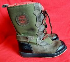 TIMBERLAND Boy's Youth 5.5 Waterproof Thermolite Winter Snow Boots
